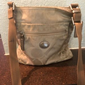 Used Authentic Coach Crossbody Bag